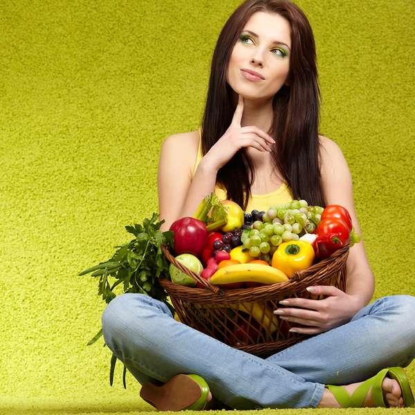 Vegetais e frutas alcalinas