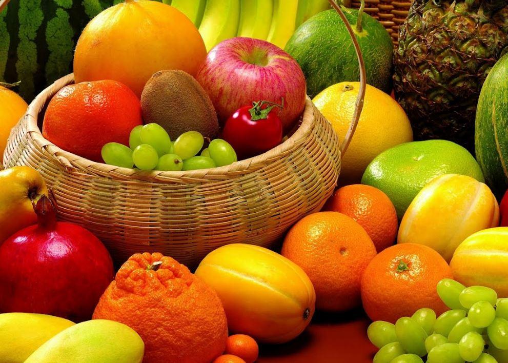 jantar baixas em calorias - fruta