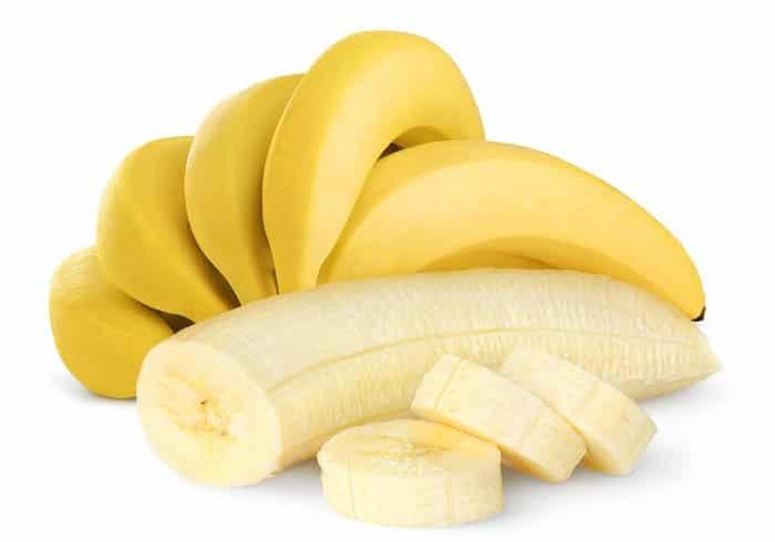 dietas ricas em proteínas banana