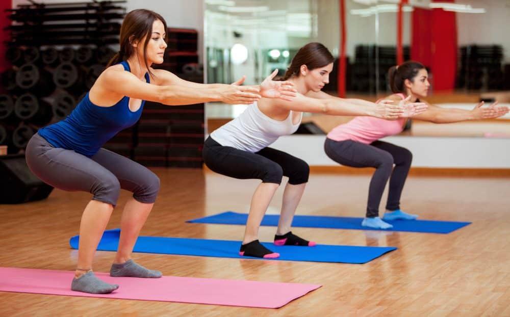 Exemplo de exercícios para fortalecer os músculos contra a celulite