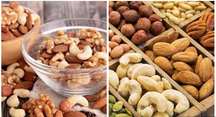 frutos secos para diminuir o colesterol