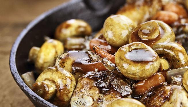 para as suas refeições para não engordar - cogumelos