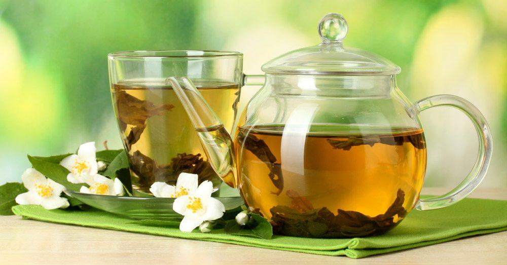 Foto de chá verde