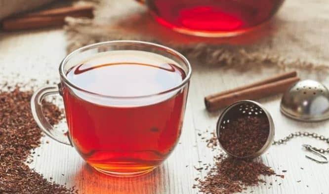 tes eficazes de emagrecimento, o chá vermelho