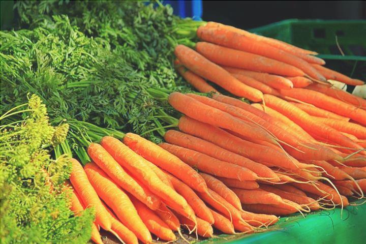 Alimentos com beta-caroteno