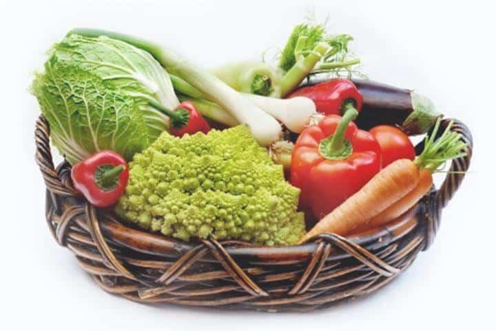 Legumes e produtos hortícolas