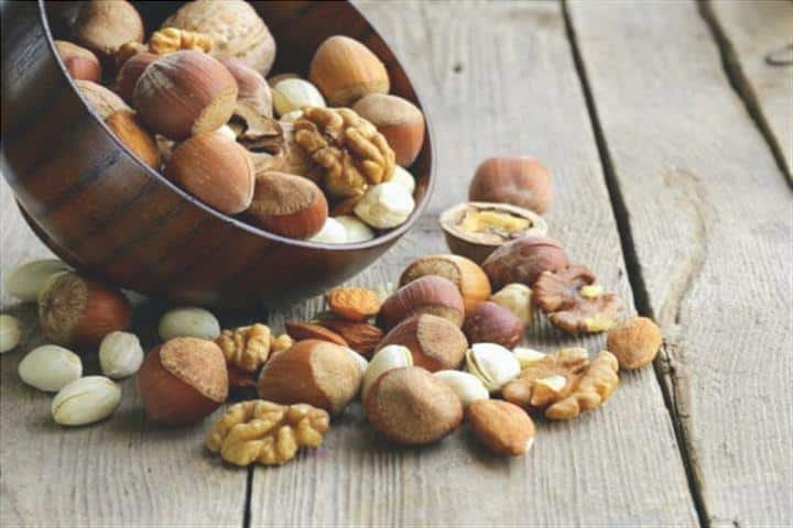 Nozes e frutos secos
