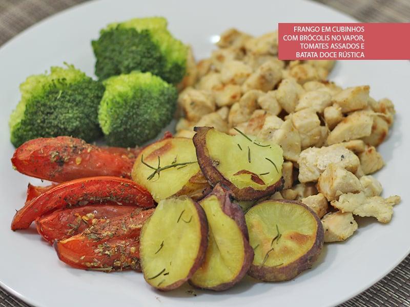 dieta da batata doce e frango