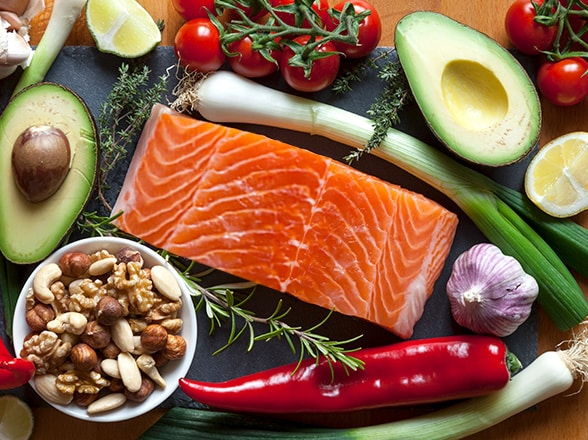 Menu de dieta paleolítica